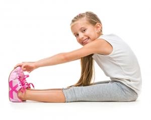girl-stretching