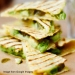 Avocado and Hummus Quesadillas