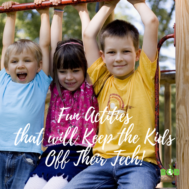 Fun Activities That Will Keep the Kids off Technology these School Holidays!